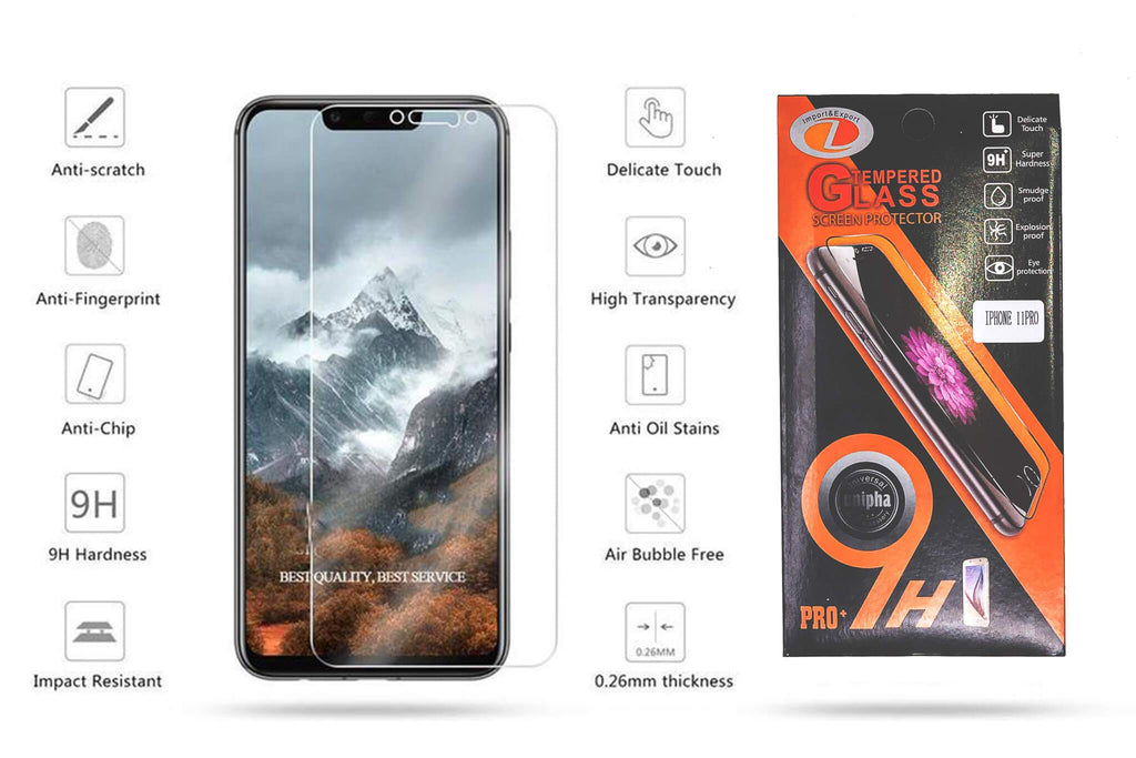 9H Tempered Glass Screen Protector - Cloud Accessories, LLC