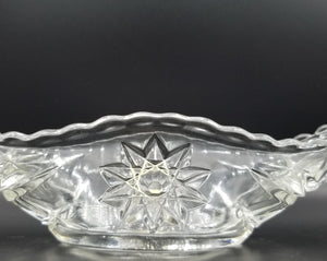Anchor Hocking, Vintage Glass Gondola Dish