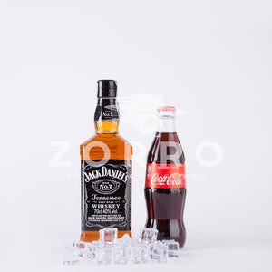 Kit Jack e Cola: Jack Daniel's Whiskey, Coca Cola