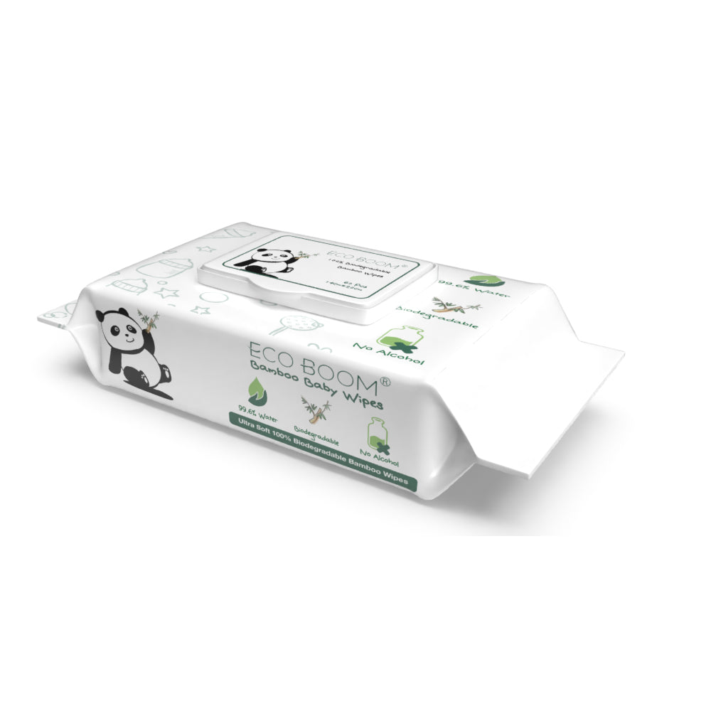 EcoBoom Biodegradable Wipes