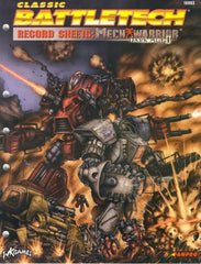 Record Sheets: Mechwarrior Dark Ages I