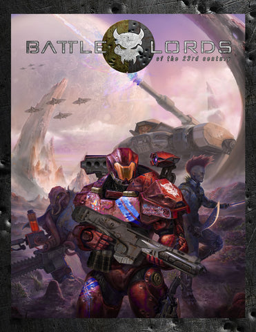Battlelords of the 23rd Century Kickstarter Edition