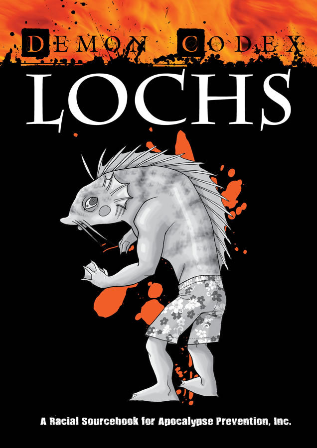 Apocalypse Prevention, Inc : Demon Codex: Lochs PDF | Studio