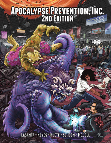 Apocalypse Prevention 2nd Edition Hardback
