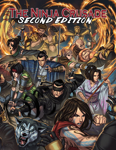 The Ninja Crusade 2nd Edition (Hardcover)
