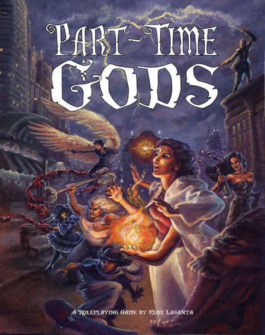 Part-Time Gods RPG