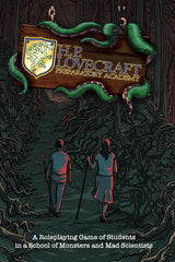 H. P. Lovecraft Preparatory Academy Hardcover (PDQ System Edition)