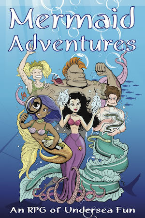 Mermaid Adventures RPG (B&W version)