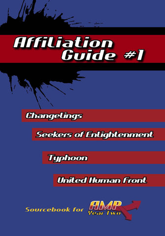AMP Year Two: Affiliation Guide #1