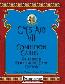 GM's Aid VII: Condition Cards (Pathfinder RPG) PDF
