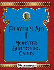 Player's Aid II: Monster Summoning Cards (Pathfinder) PDF