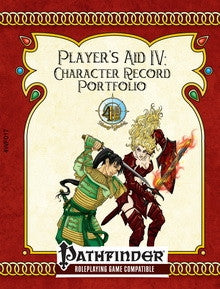 Player's Aid IV: Character Record Portfolio - Form Fillable V