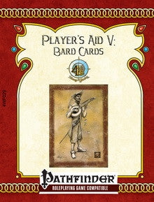 Player's Aid V: Bard Cards (Pathfinder RPG) PDF