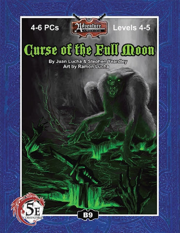 (5E) B09: Curse of the Full Moon PDF