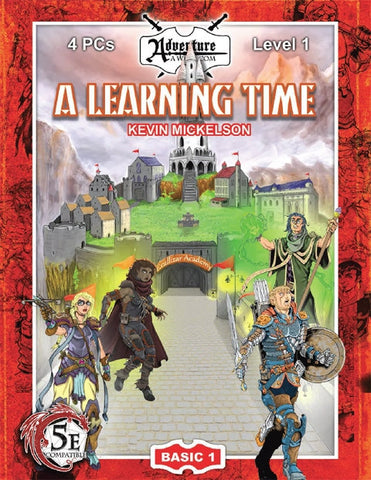 (5E) BASIC01: A Learning Time PDF