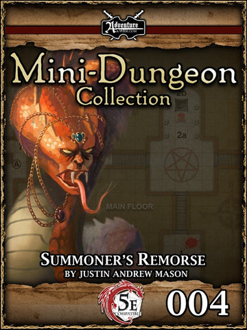 5E Mini-Dungeon #004: Summoner's Remorse PDF