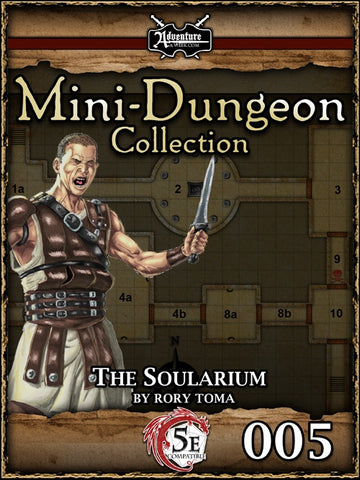 5E Mini-Dungeon #005: The Soularium PDF