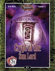 (5E) A01: Crypt of the Sun Lord PDF