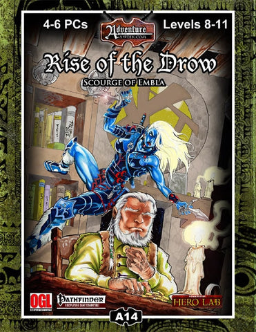 A14: Rise of the Drow–Scourge of Embla PDF