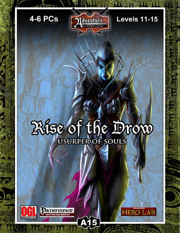 A15: Rise of the Drow–Usurper of Souls PDF