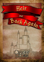Heir & Back Again - Deck of Cards -- Any System