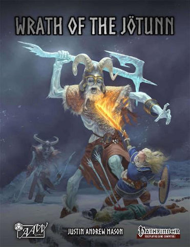 Into the Wintery Gale: Wrath of the Jotunn (Softcover)