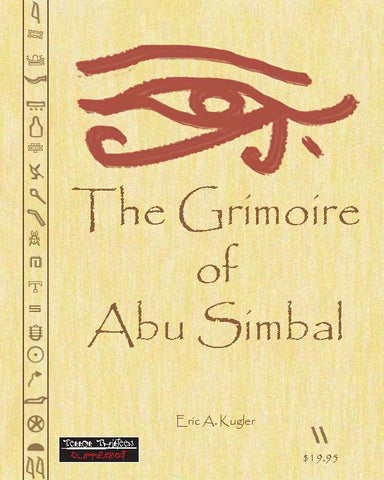 Terror Thirteen: The Grimoire of Abu Simbal