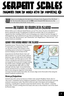 Serpent Scales #3: Return to Monster Island (Savage Worlds Edition) PDF