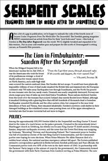 Serpent Scales #4: The Lion in Fimbulwinter - Sweden (Savage Worlds) PDF