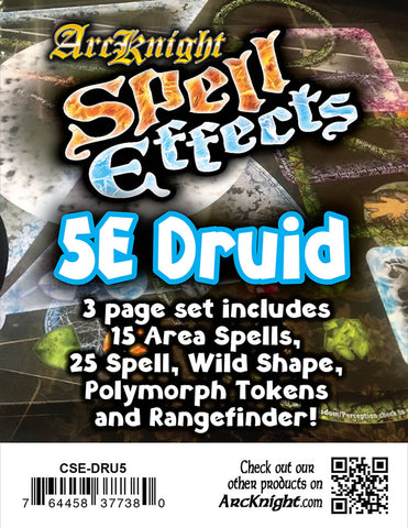 Spell Effects: 5E Druid