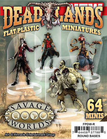 Flat Plastic Miniatures: Deadlands