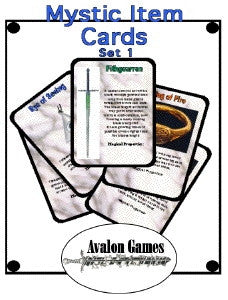 Mystic Item Cards, Set 4 PDF