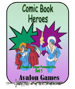 Comic Book Heroes, Set #1, Mini-Game #25 PDF