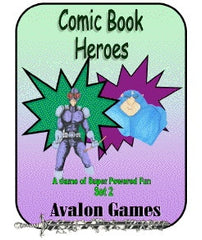 Comic Book Heroes, Set #2, Mini-Game #28 PDF