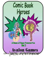 Comic Book Heroes, Set #3, Mini-Game #31 PDF