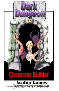 Dark Dungeon #5, Character Builder, Mini-Game #33 PDF