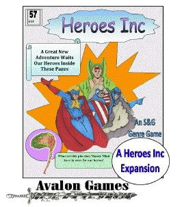 Heroes Inc, Master Mind's Revenge, Mini-Game #61 PDF