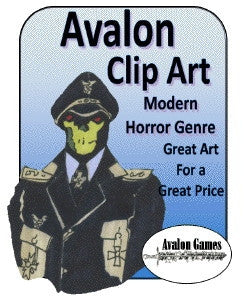 Avalon Clip Art, Modern Horror PDF