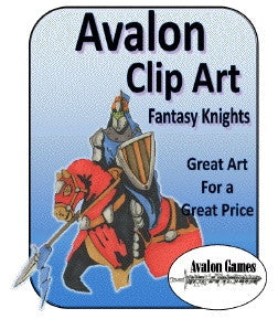 Avalon Clip Art, Knights PDF