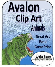 Avalon Clip Art, Animals PDF