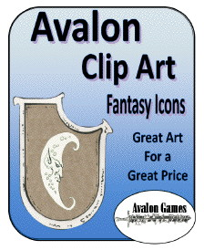 Avalon Clip Art, Fantasy Icons PDF