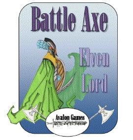 Battle Axe, Elven Lord PDF