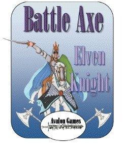 Battle Axe, Elven Knight PDF