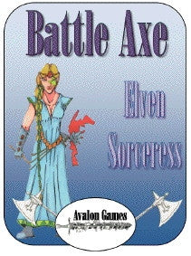 Battle Axe, Elven Sorceress PDF