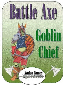 Battle Axe, Goblin Chief PDF