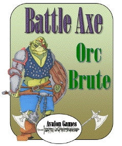 Battle Axe, Orc Brute PDF