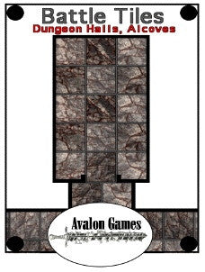 Battle Tiles, Dungeon Halls and Alcoves PDF