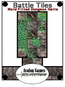 Battle Tiles, Mold Filled Dungeon Halls PDF