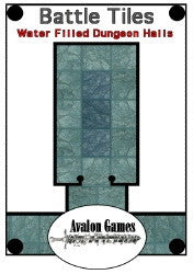 Battle Tiles, Water Filled Dungeon Halls PDF