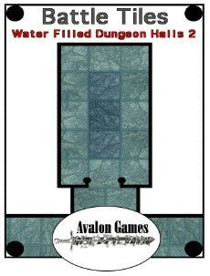 Battle Tiles, Water Filled Dungeon Halls 2 PDF